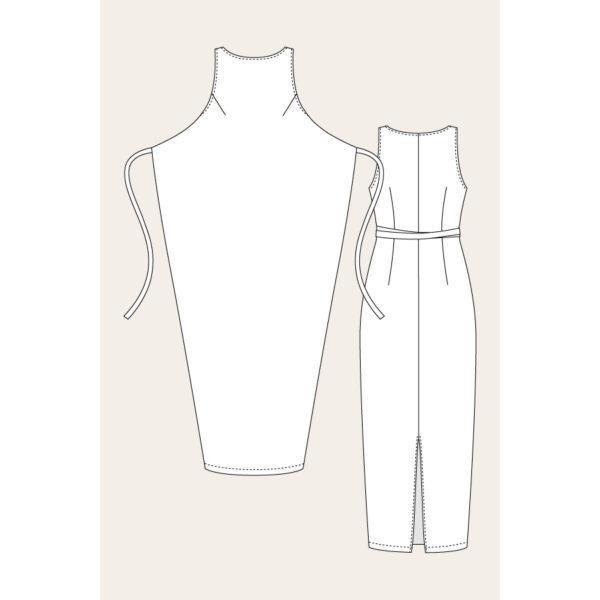 Kielo Wrap Dress - Named - on Maternity Sewing