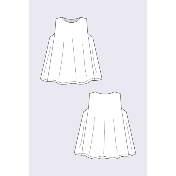 Minttu Swing Top - Named - on Maternity Sewing