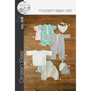 Modern Layette - Baby's first Clothes - on Maternity Sewing