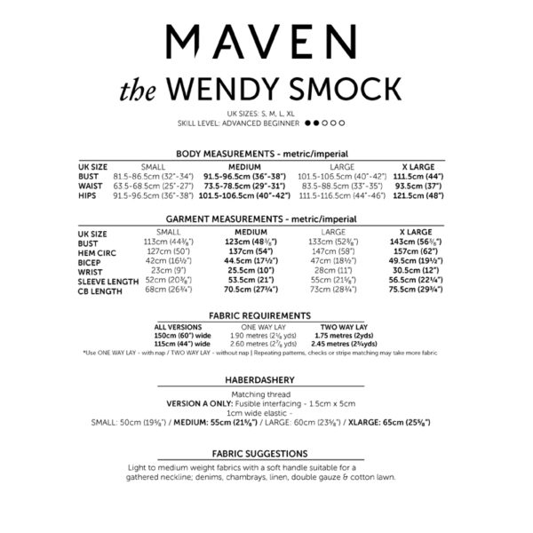 Maven Patterns Wendy Smock on MaternitySewing.com
