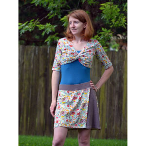 Adventure Skort - 5oo4 Patterns - on Maternity Sewing