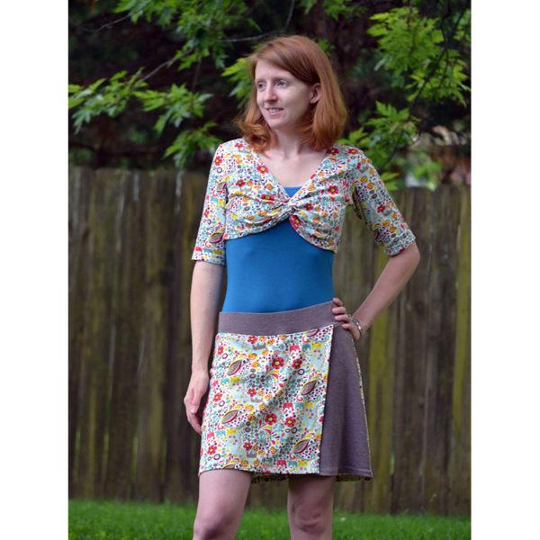 Adventure Skort - 5oo4 Patterns - on Maternity Sewing