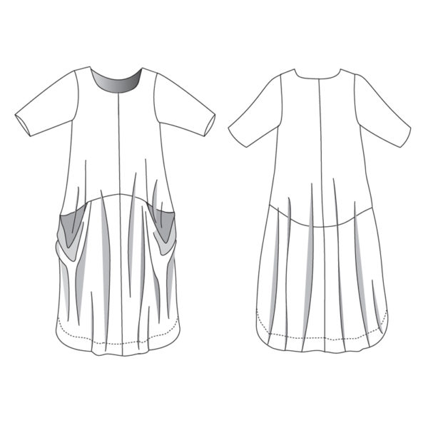 Pheenie - Boho Banjo - on Maternity Sewing