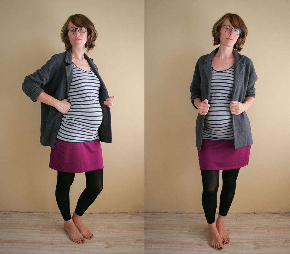 5 ways to make your wardrobe last through pregnancy - MaternitySewing.com