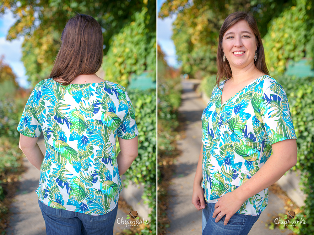 Nursing in Style - Cinnabar Sky mae by Chipmunks Corner - on Maternity Sewing