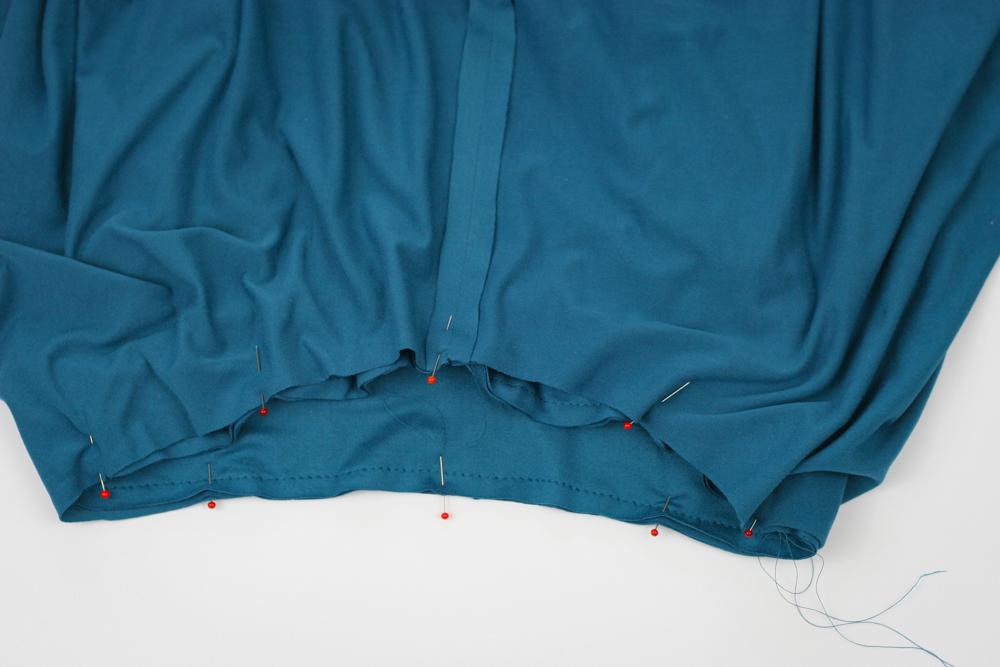 Infinity Dress Sewalong 6: Skirt