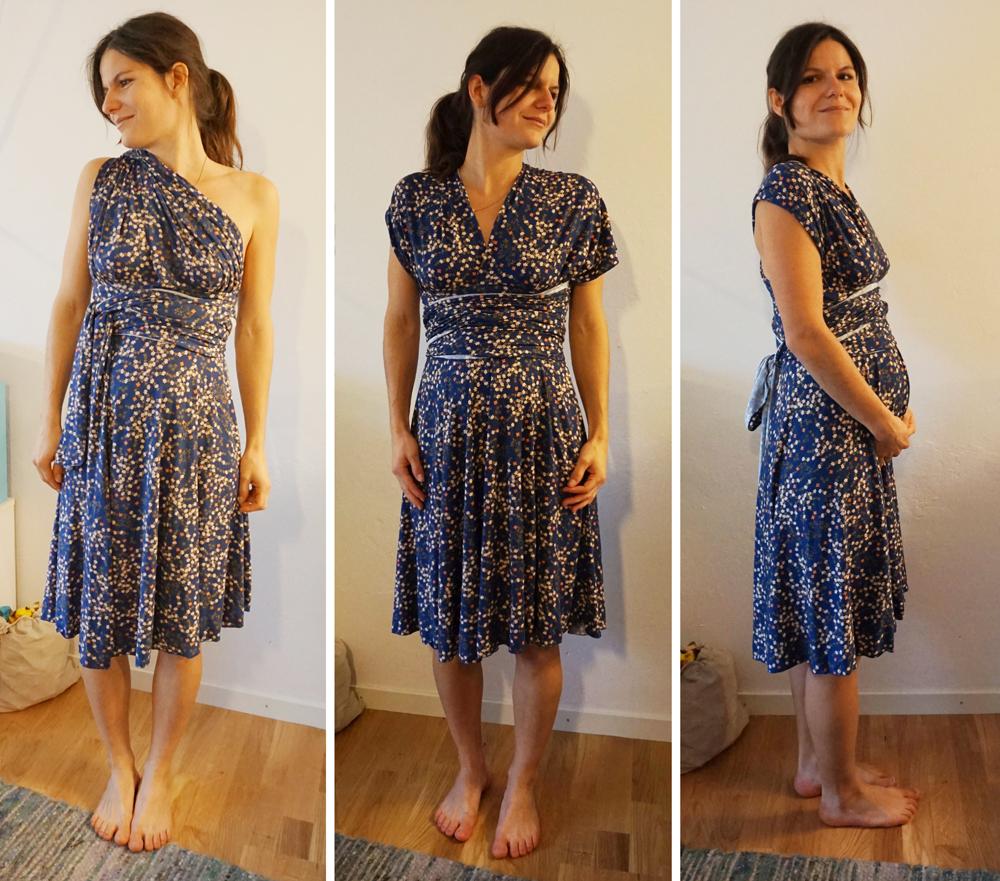 Kiki in Maternity Sewing Knit Infinity Dress