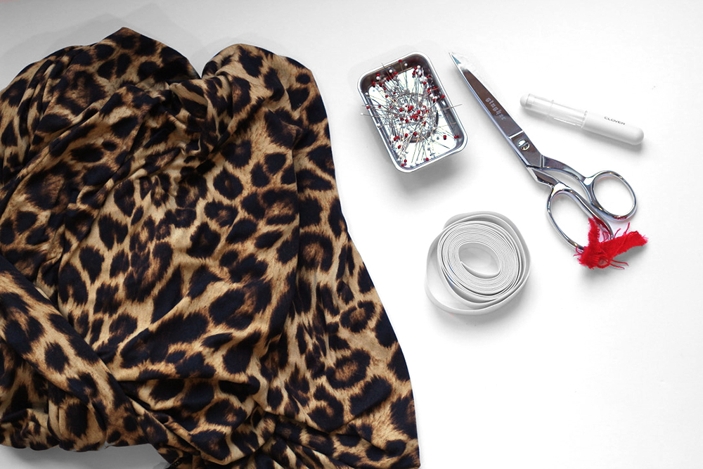 infinity dress sewalong materials