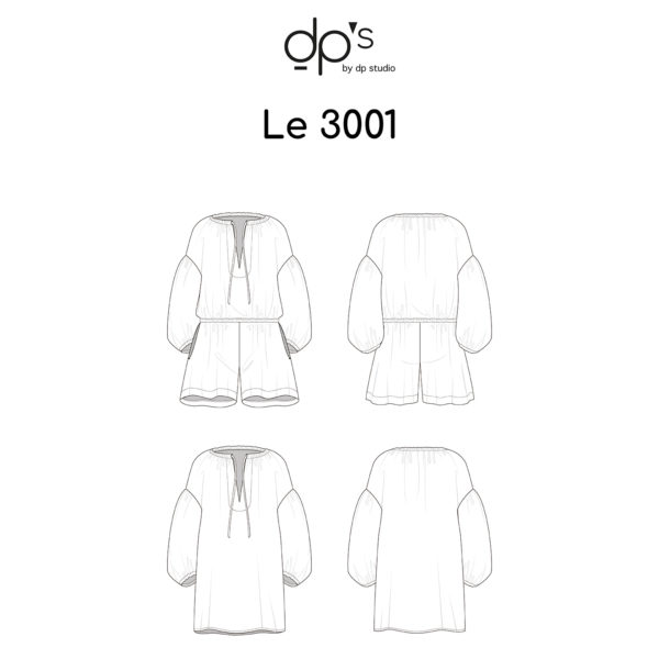 3001 - DP Studio - on MaternitySewing.com