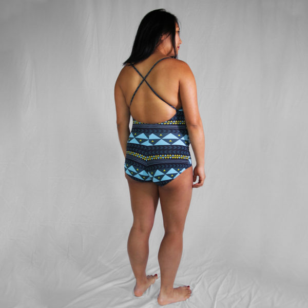 Laminaria Maternity Swimsuit - Tuesday Stitches - on Maternity Sewing