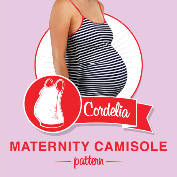 Cordelia Maternity Camisole - So Zo - on Maternity Sewing