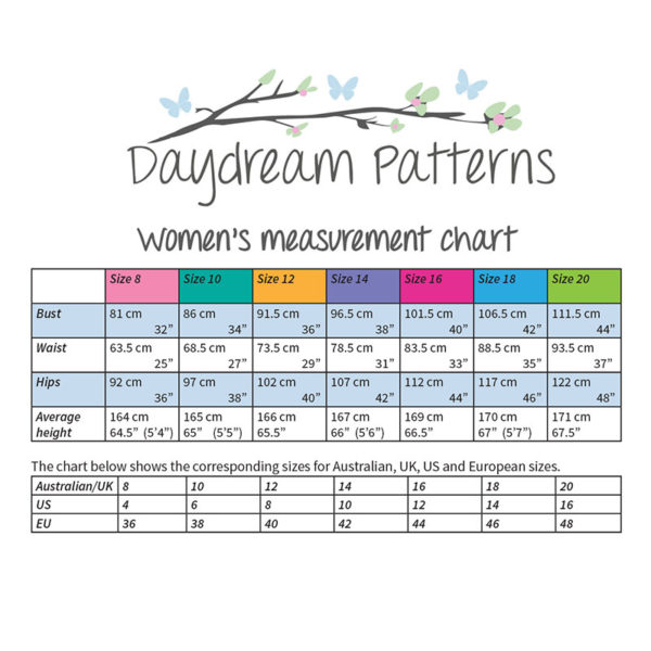 Sophia Top - Daydream Patterns - on Maternity Sewing