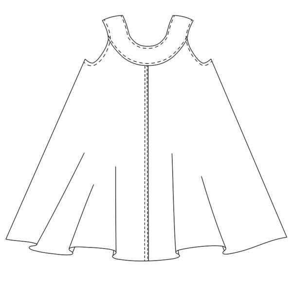 The Ivy Pinafore - Jennifer Lauren Handmade - on Maternity Sewing