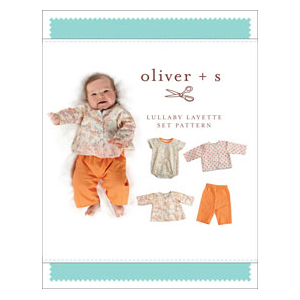 Lullaby Layette - Baby's first Clothes - on Maternity Sewing