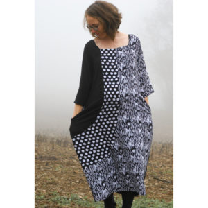 Two Pegs Dress - Boho Banjo on Maternity Sewing