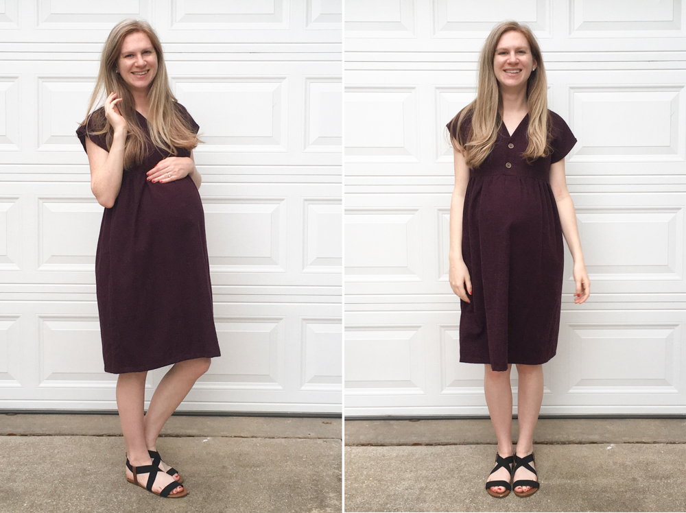Maternity Style - Fringe Dress - on MaternitySewing.com