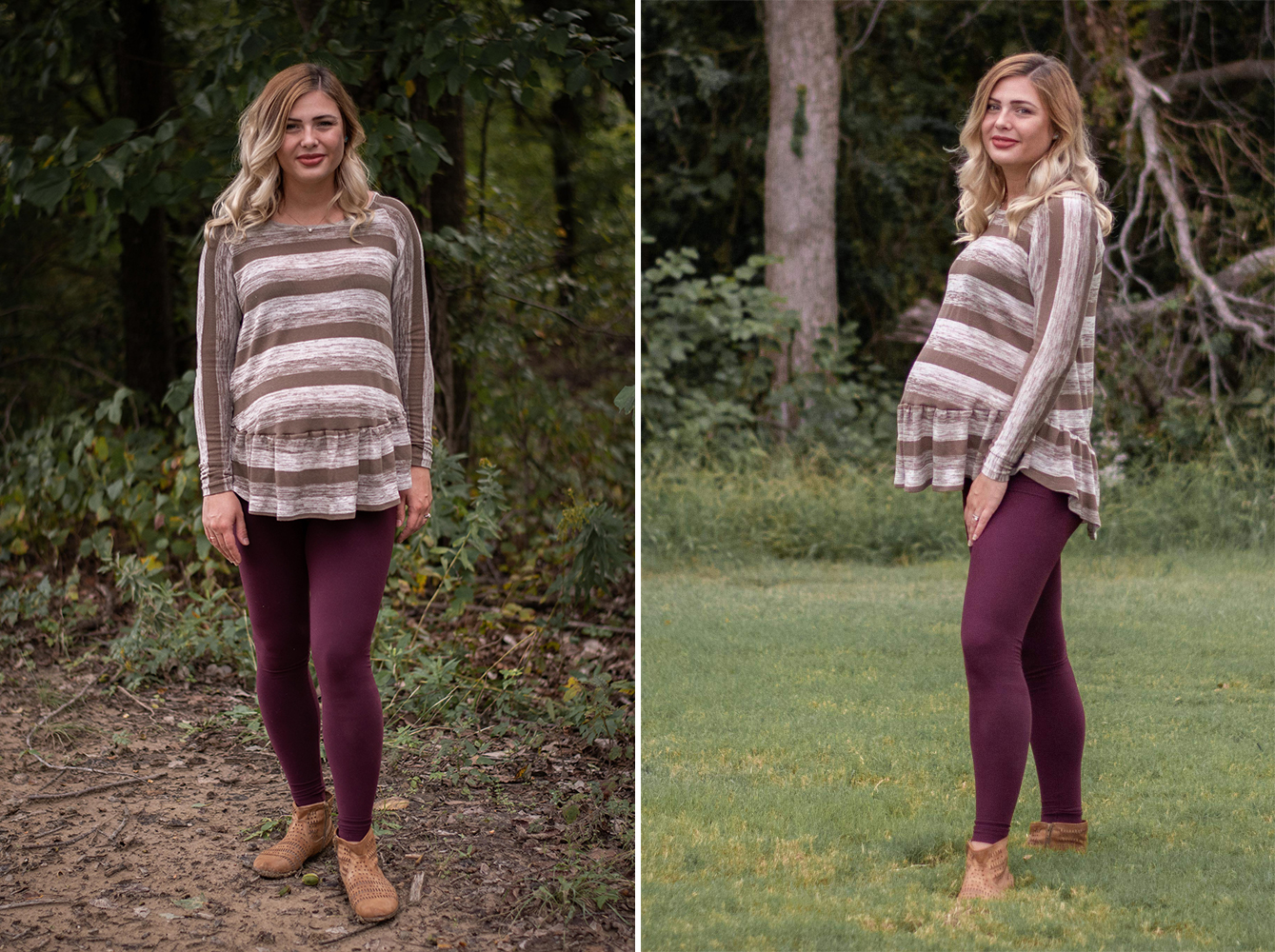 Waterfall Raglan - made by Pins & Pinot - on Maternity Sewing