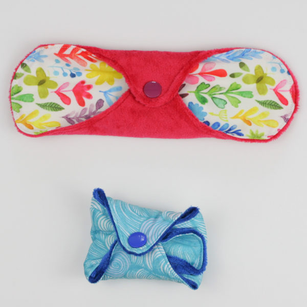 Cloth Menstrual Pads - DIYpads - on Maternity Sewing