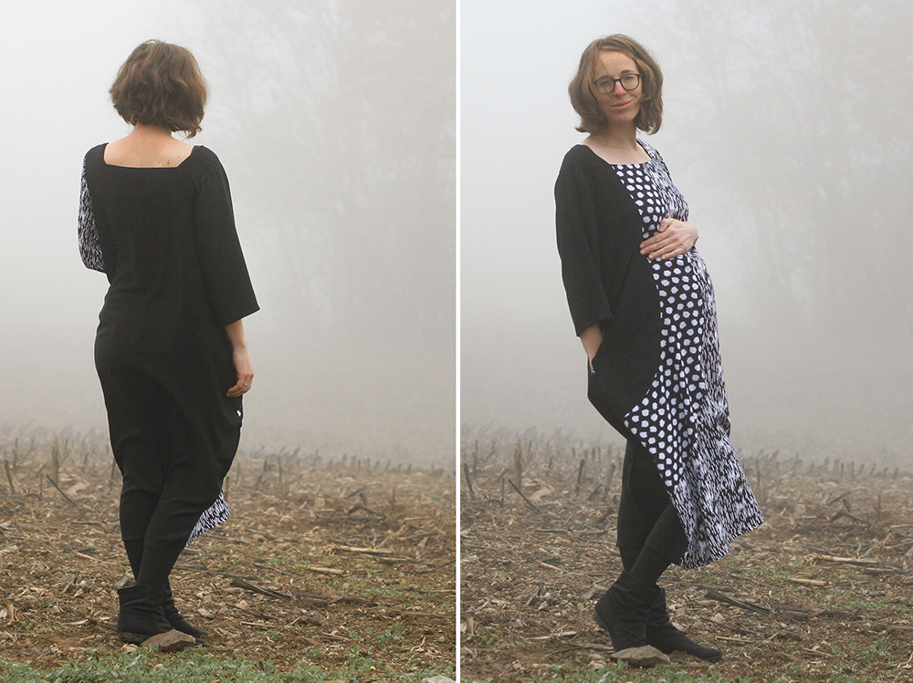 Maternity Style: Two Pegs Dress - on MaternitySewing.com