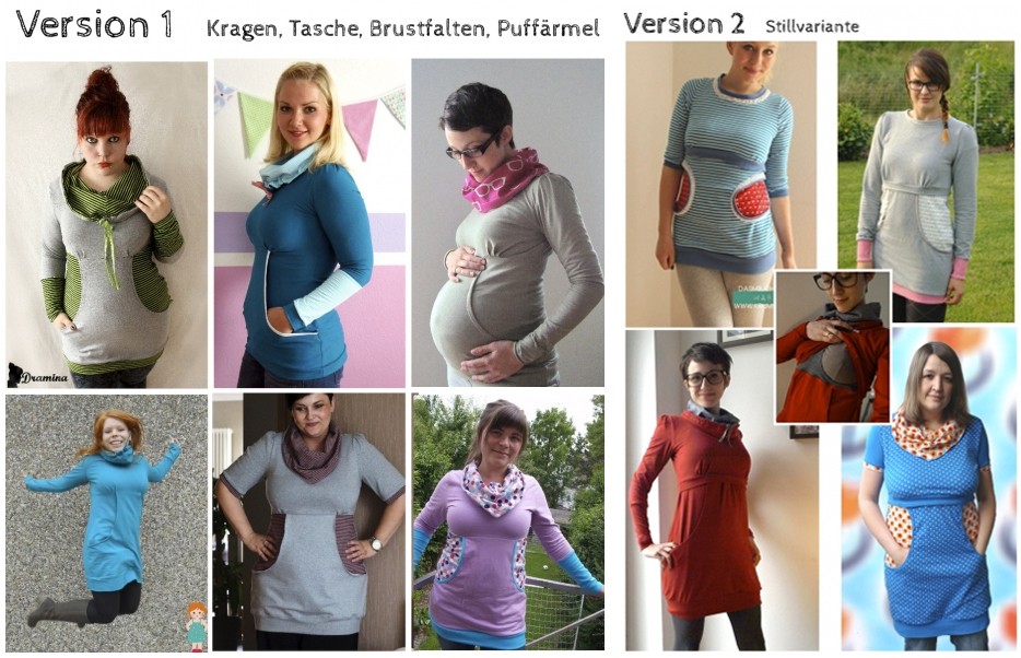 Martha Pattern by Milchmonster - mentioned on the Maternity Sewing Podcast