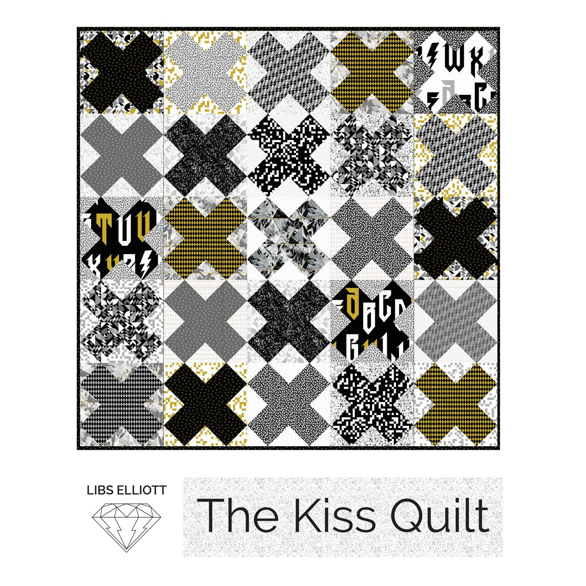 The Kiss Quilt by Libs Elliott
