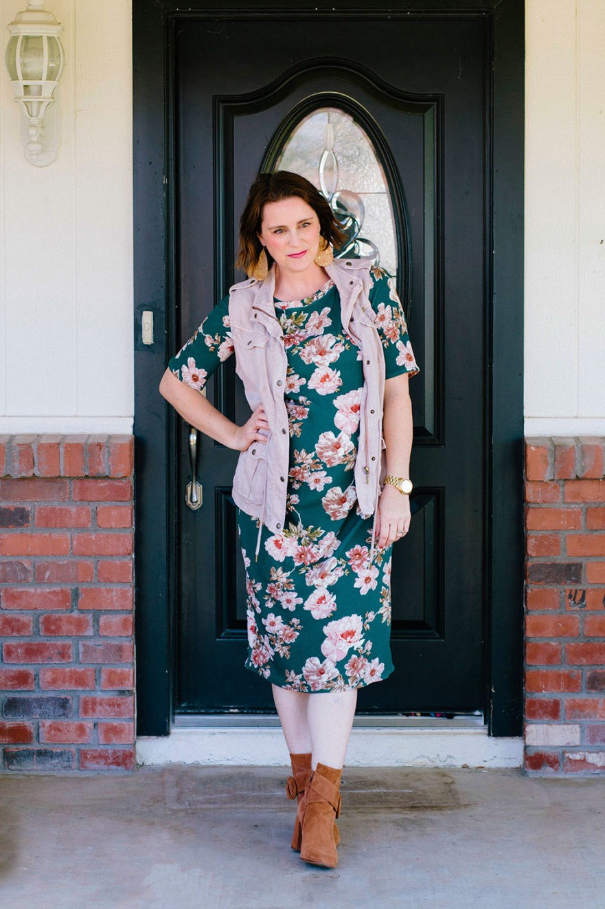 TATB Agnes Dress on MaternitySewing.com
